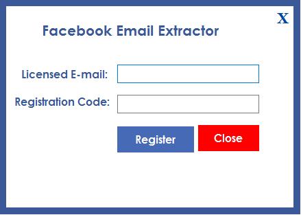 Facebook Email Scraping Tool - 1