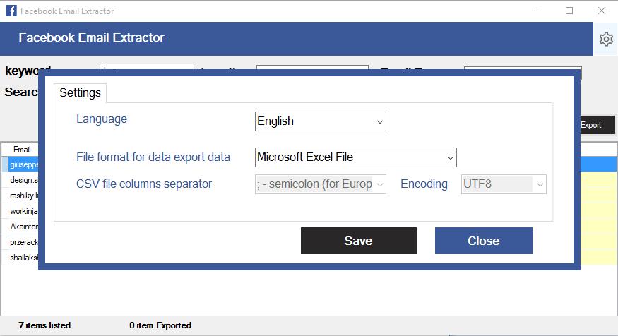 Facebook Email Scraping Tool - 4