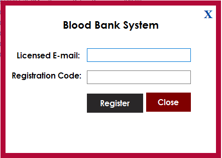 Blood Bank Management Software - 1