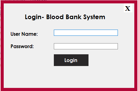 Blood Bank Management Software - 2